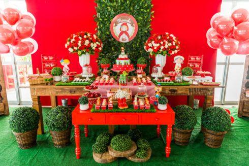 imagem 5 61 490x327 Decoração Festa Chapeuzinho Vermelho de Aniversário infantil