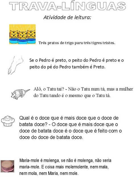 imagem 5 76 Atividades Trava Língua Infantil para baixar e Imprimir