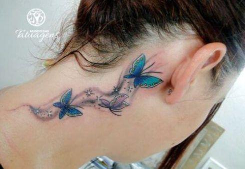 imagem 5 80 490x339 Tatuagem de Borboleta Feminina, Desenhos, partes do Corpo