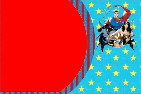 imagem 6 14 490x327 Festa Infantil de Aniversário Liga da Justiça como Decorar com Esse Tema