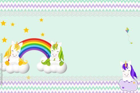 imagem 6 46 490x326 Decoração festa Unicórnio para Aniversário Infantil, ideias