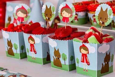 imagem 6 60 490x327 Decoração Festa Chapeuzinho Vermelho de Aniversário infantil