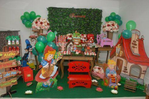 imagem 7 21 490x328 Decoração Festa Chapeuzinho Vermelho de Aniversário infantil
