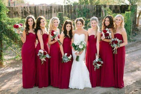 imagem 74 490x326 Vestidos para Madrinha de Casamento 2019 2020, Jeitos de usar