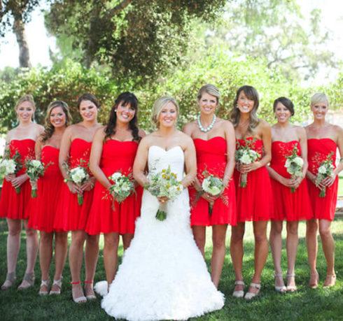 imagem 75 490x459 Vestidos para Madrinha de Casamento 2019 2020, Jeitos de usar