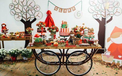 imagem 8 12 490x304 Decoração Festa Chapeuzinho Vermelho de Aniversário infantil