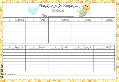 imagem 8 4 490x339 Tabela de planejamento semanal para Imprimir, Modelos