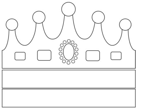 imagem 8 4 490x379 Molde de Coroa para Imprimir, atividades de Artes