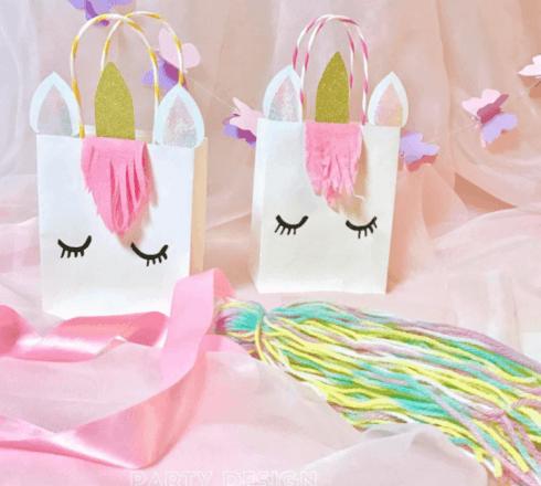 lembrancinhas festa unicornio 1 490x440 Decoração festa Unicórnio para Aniversário Infantil, ideias
