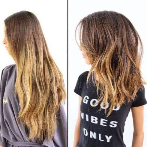 long bob haircut 1 490x490 Cabelo Long Bob 2019 / 2020 cortes que são A Moda