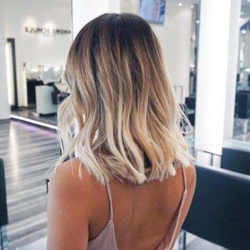 ombre hair em cabelo curto 1 490x490 Cabelo Ombré Hair visuais Incríveis e charmosos