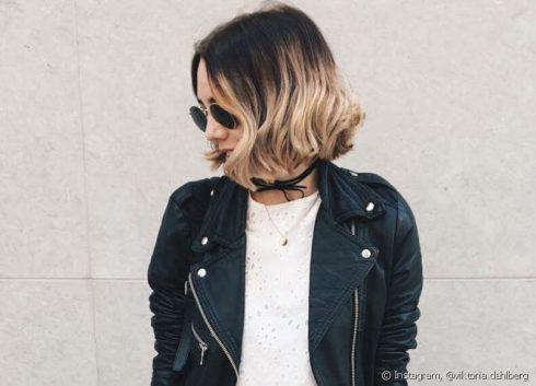 ombre hair em cabelo curto 4 490x353 Cabelo Ombré Hair visuais Incríveis e charmosos