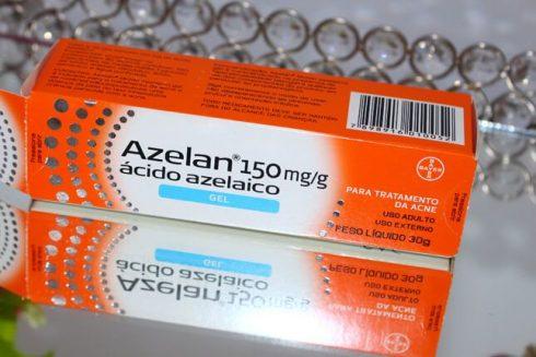 pomada Azelan 490x327 Pomada para Cicatrizar Espinha no Rosto ou nas Costas