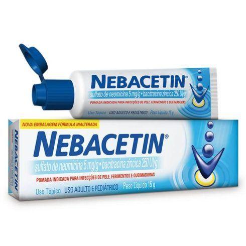 pomada Nebacetin 490x490 Pomada para Queimadura de Fogão, Moto e outros Acidentes