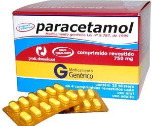 rem%C3%A9dio paracetamol Remédio para Dengue Dor no corpo e Febre, Nomes