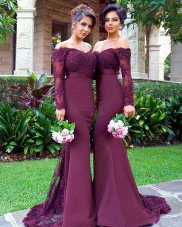 Vestido Marsala para Madrinha de casamento e Formatura
