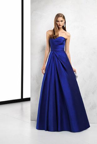 vestido para madrinha de casamento azul 1 310x459 Vestidos para Madrinha de Casamento 2019 2020, Jeitos de usar