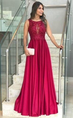 vestido para madrinha de casamento marsala 310x500 Vestidos para Madrinha de Casamento 2019 2020, Jeitos de usar