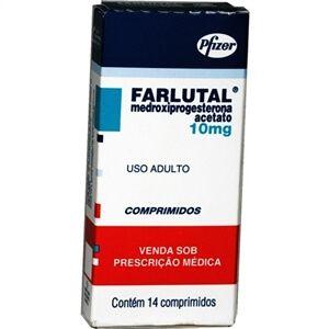 Rem%C3%A9dio Farlutal Nomes de Remédios para fazer Descer a Menstruação, Conheça