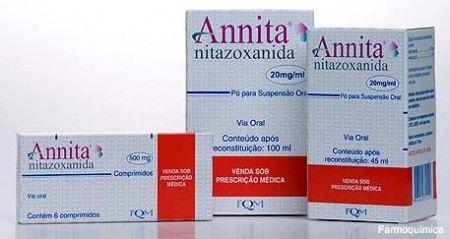 rem%C3%A9dio de verme annita Remédio de Verme Annita Infantil e Adulto, Especificações