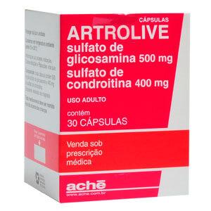 Artrolive 500 mg Comprimidos Remédio para Artrite na Mão e nos Dedos, (Tratamento)