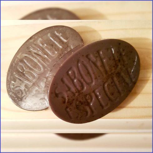 Sabonete de Chocolate artesanal 490x490 Como fazer sabonete artesanal receita pra fazer em casa
