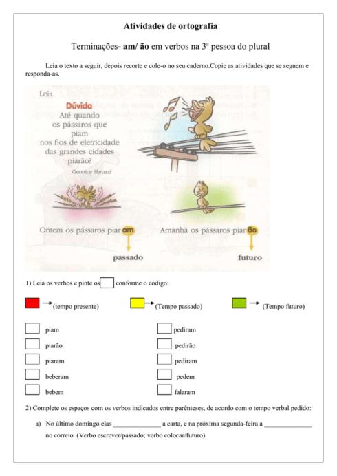 imagem 6 490x692 Atividades am e ão gramática Português para Imprimir