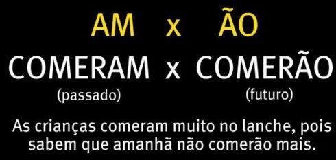 uso de am e %C3%A3o 490x233 Atividades am e ão gramática Português para Imprimir